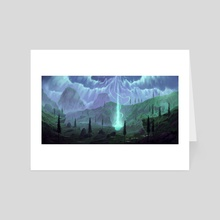 Born of a Magnificient Creature - Art Card by Lorant Toth