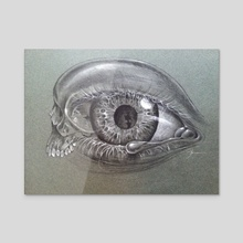 Skullduggery - Acrylic by john mark