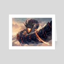 Ryusei, the Falling Star - Magic the Gathering - Art Card by Grzegorz Rutkowski