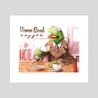 Cooper the Frog - Art Print by Justin DeVine