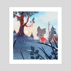 Winter Mousemoth - Art Print by Olivia Chin Mueller