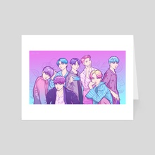 Aesthetic BTS - Art Card by Fany Misu