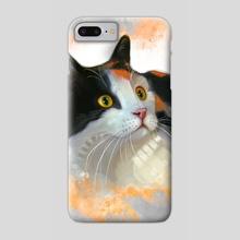 Calico Kitty 02 - Phone Case by Anuradha Grover