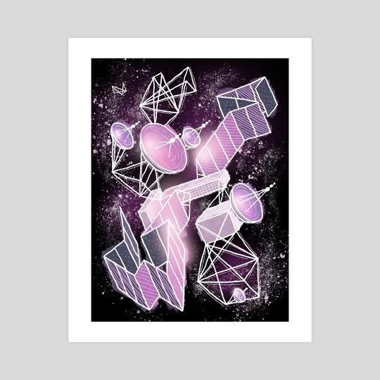 Cosmic Playground by Mario Graciotti