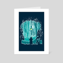 Snowstorm - Art Card by Dale Hutchinson
