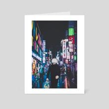 Gojo Satoru. - Art Card by kylokun