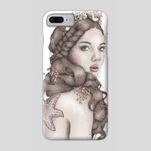The Forgotten Mermaid - Phone Case by Frances Louw