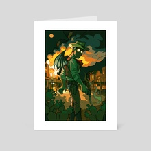 Demon of the West - Art Card by Mollie Rose