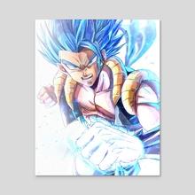 fusion gogeta - Acrylic by Sumutemu