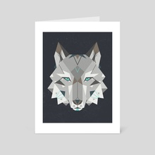 Wild - Art Card by Nayla Smith