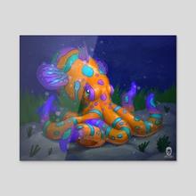 The Mandarintopus - Acrylic by Amir Levi