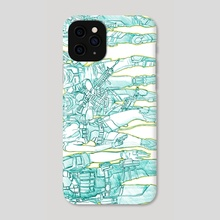 Ghost in the Shell 02 - Phone Case by robbot17 studio