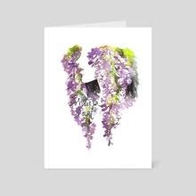 Wisteria Court (Genjimonogatari) - Art Card by Maiji/Mary Huang
