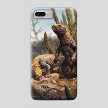 A Diictodon Pair - Phone Case by Jordan K Walker