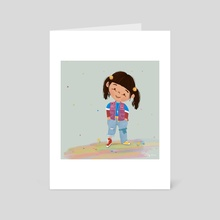 Punky Brewster - Art Card by Ileana Hernandez
