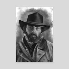 Arthur Morgan - Canvas by Michael Cain