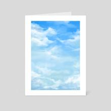 Clouds - Art Card by Cargoleta