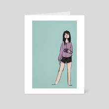 Kate Bishop - Art Card by shannon