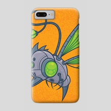HUMM-BUZZ - Phone Case by John Schwegel
