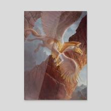 Pegasus Token - Acrylic by Lars Grant-West