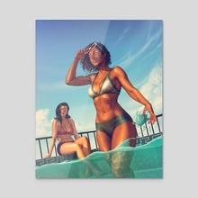 Korrasammer - Acrylic by Krystopher Decker