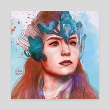 Aloy - Canvas by Nicola Dunford