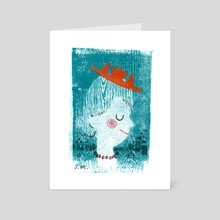 new hat - Art Card by Shannon McNeill
