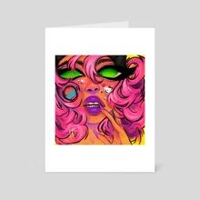 Watermelon Girl - Art Card by LOSTJEM