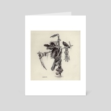 Scarecrow - Art Card by Charles Lister