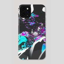 portal through minds - Phone Case by NICKVISUALS