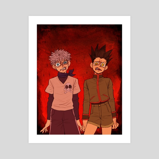 Vol 13 Gon and Killua by Feriowind