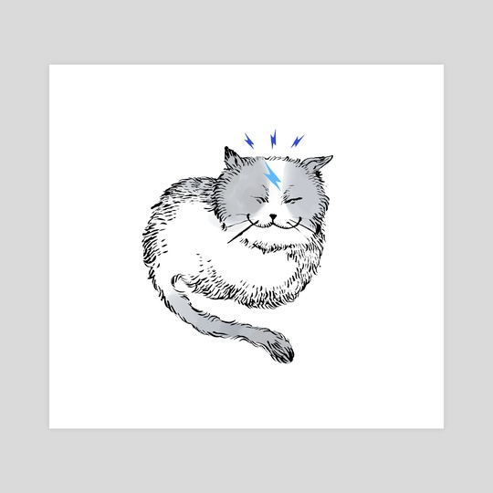 thunder cat by White Mocca