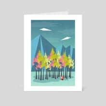 Springtime - Art Card by Illusorium