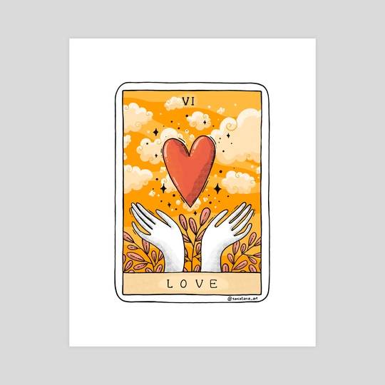 Love Card by Tania S