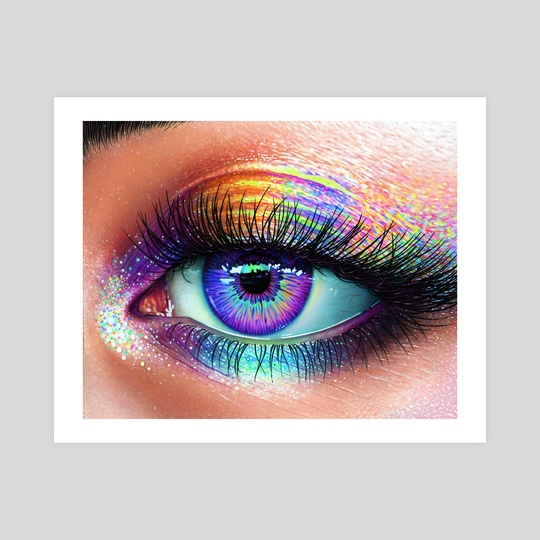 Rainbow Eye by Morgan Davidson