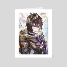 Sandalphon - Art Card by ketten