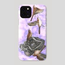 Bird Nest in My Heart - Phone Case by Jana  McCullough