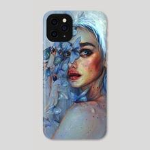Lunar Pollen - Phone Case by Tanya Shatseva