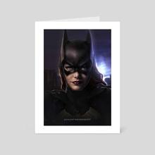 Batgirl - Art Card by Valentin Romero