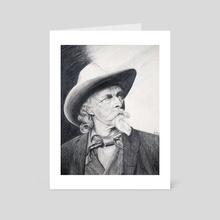 Bill Cody - Art Card by Work of Art Studios