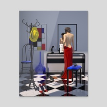 VENUS RGB - Acrylic by juan aguirre