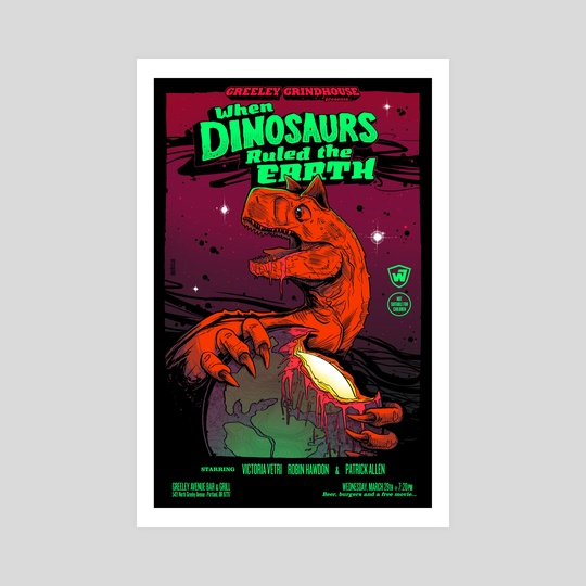 When Dinosaurs Ruled the Earth by Ed Kersh