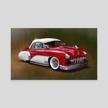 1949 Chevy - Canvas by Candra Hope