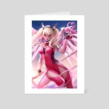 Pink Mercy - Art Card by Casper Hansen
