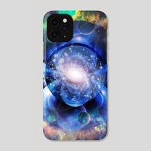 Vivid Sci-fi composition. Mystic Universe - Phone Case by Bruce Rolff