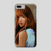 Ahri in Real Life - Phone Case by Wesley Stults
