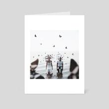Butterflies - Art Card by Jovana Rikalo