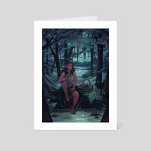 Forest Lights - Art Card by Kay Wren