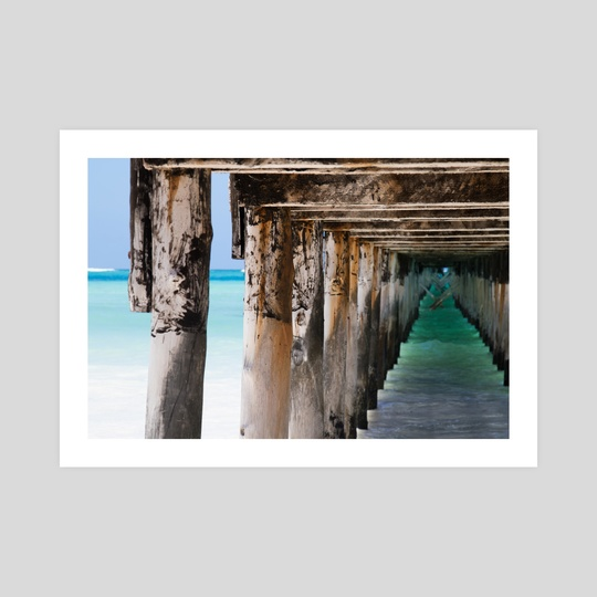 African Pier by Eduardo Fleck