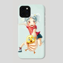 Chicken Grab - Phone Case by Indré Bankauskaité